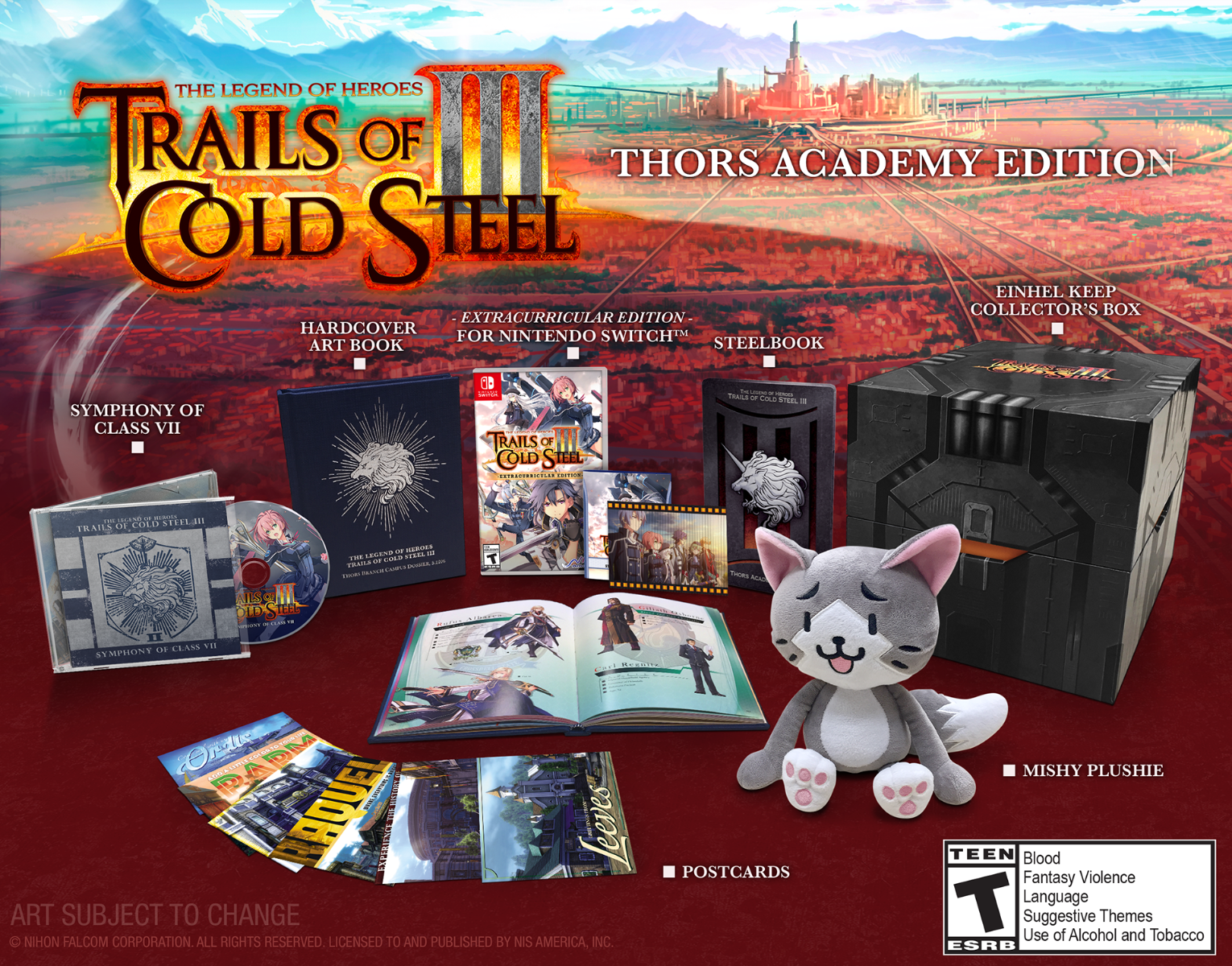 Trails of Cold Steel III Collector