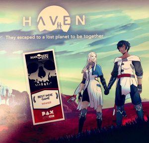Le jeu HAVEN