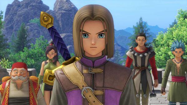 Dragon Quest XI S - Heros