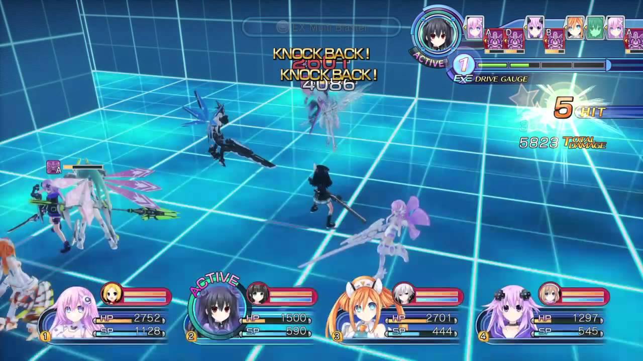 Combat Megadimension Neptunia VII