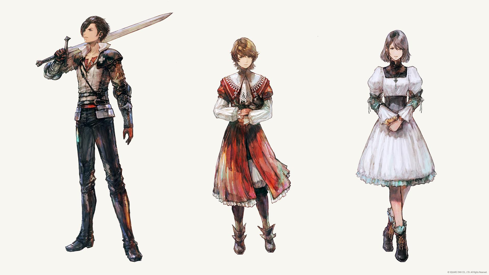 Final Fantasy XVI Famille Rosfield