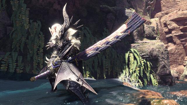Magnamalo Long sword