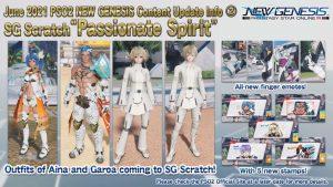 PSO2 : New Genesis bannière