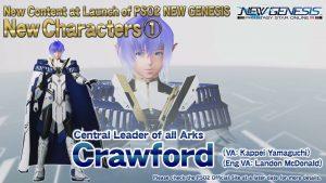 PSO2 : New Genesis Crawford