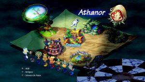 Legend of Mana - World map