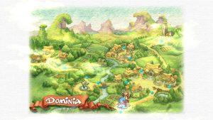 Legend of Mana - City map