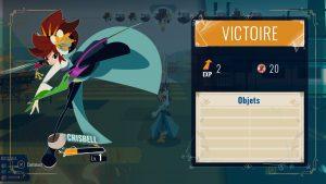 Cris Tales : victoire